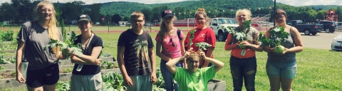 Teens in farm program